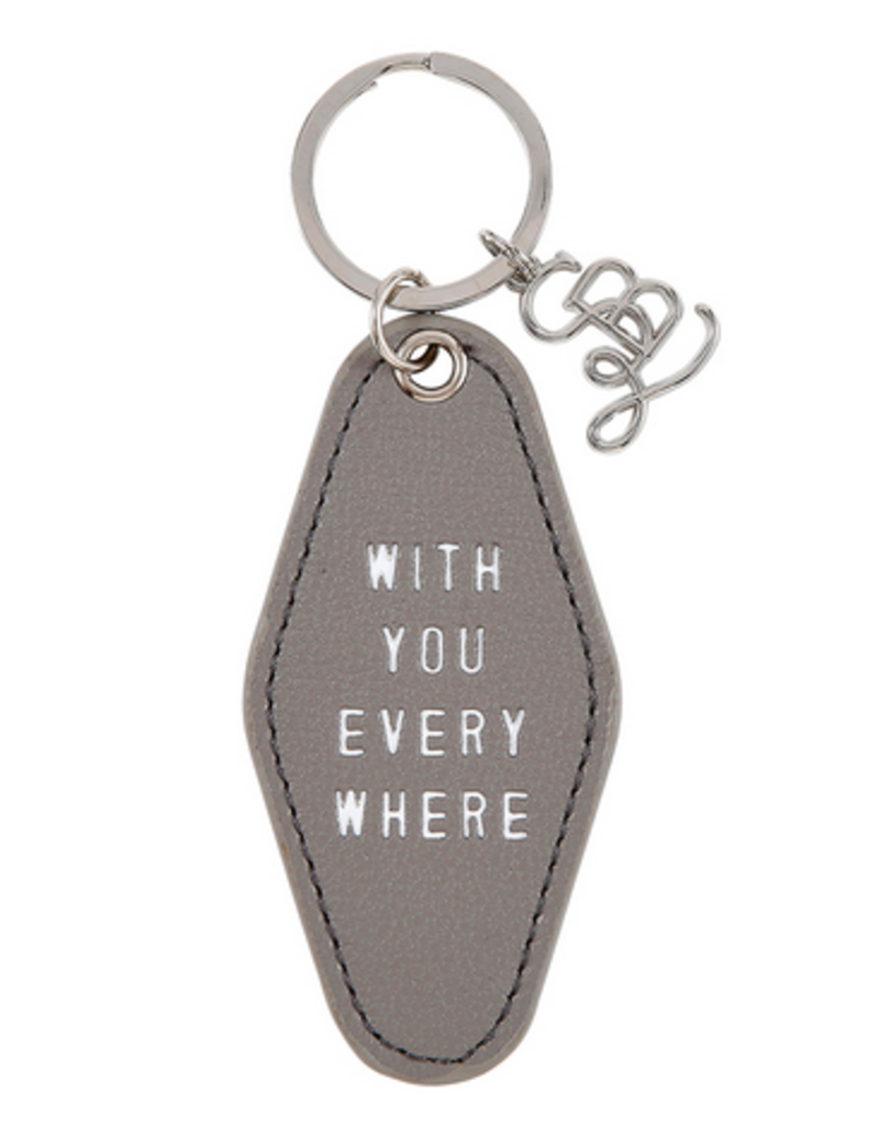 santa barbara designs motel keychain