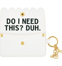santa barbara designs secret credit card pouch FINAL SALE