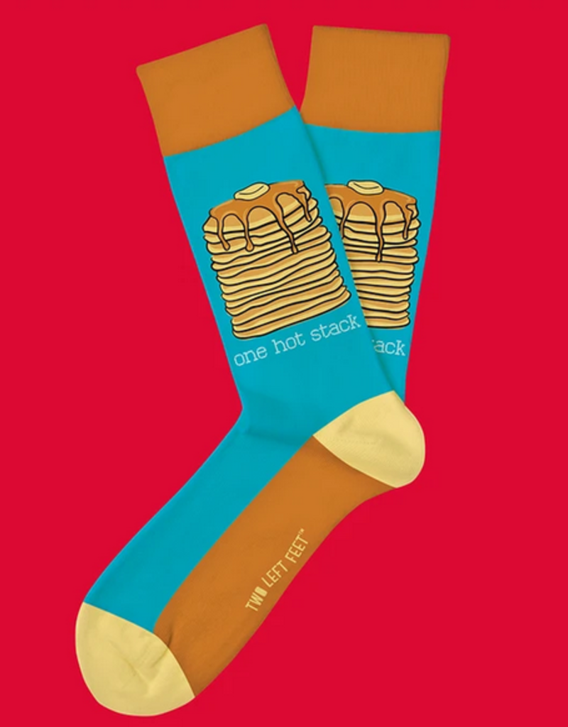 two left feet hot stack socks