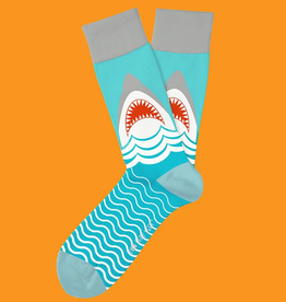 two left feet great white socks