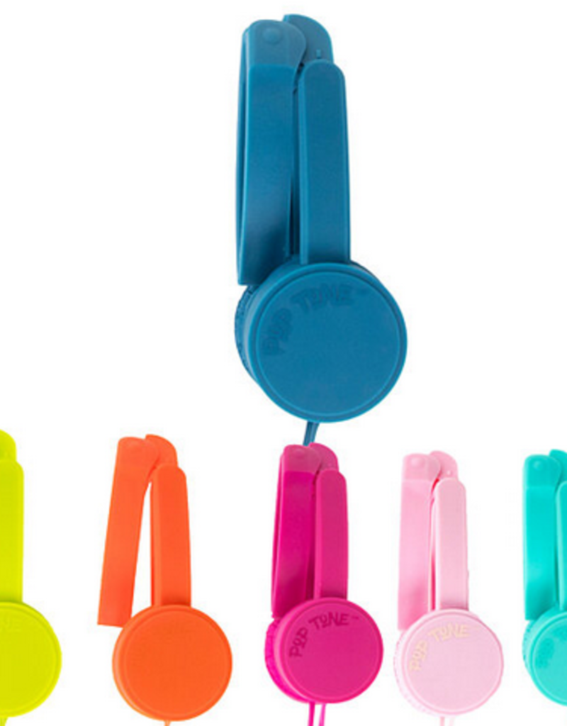pop tone head phones