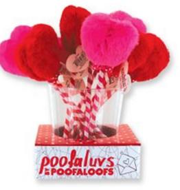 poofaloofs heart puff pen