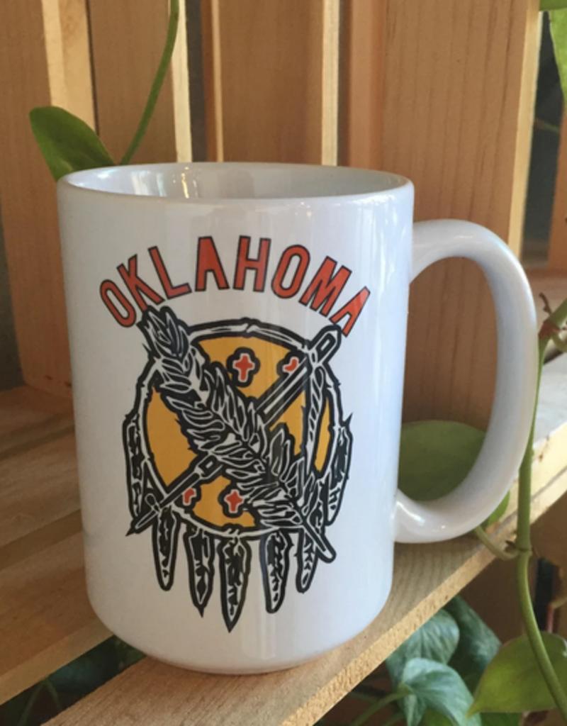 LivyLu oklahoma shield diner mug