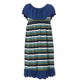 kickee pants villa dress grasshopper stripe