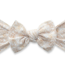 Baby Bling pretty in peach printed knot