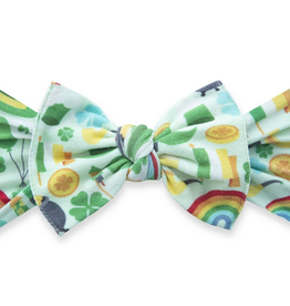 Baby Bling paddys party printed knot