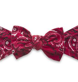 Baby Bling cherry bandana printed knot
