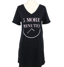 v neck sleep shirt