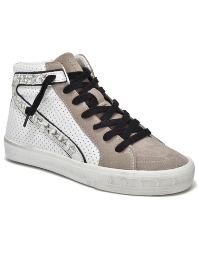 vintage havana gadol high top sneaker - taupe