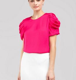 kathy draped sleeve blouse