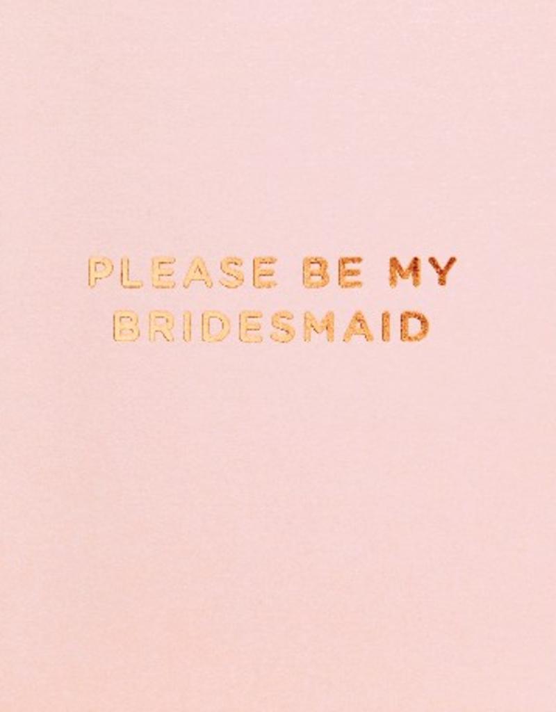 Calypso cards please be my bridesmaid card