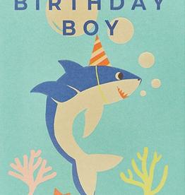 Calypso cards birthday boy shark card