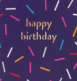 Calypso cards happy birthday sprinkles card