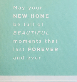 Calypso cards beautiful new home card