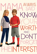 offensive and delightful know your worth card