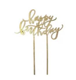 Worthwrite Goods happy birthday cake topper