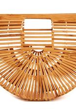 all bamboo clutch purse