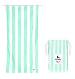 dock & bay narabeen green quick dry towel