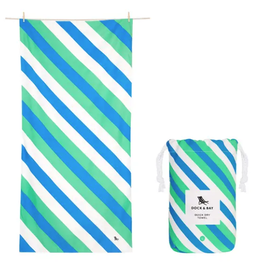 dock & bay pacific tide quick dry towel