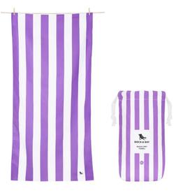 dock & bay brighton purple quick dry towel