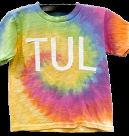 R+R toddler tie dye TUL tee