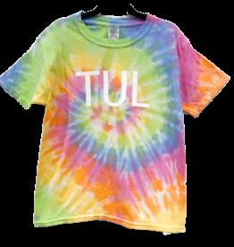 R+R youth tie dye TUL tee