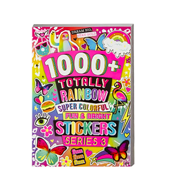 fashion angels 1000+ totally rainbow super colorful stickers
