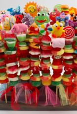 assorted sweet seller kabobs