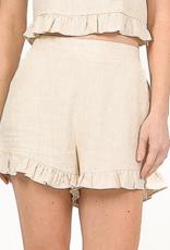 lana oatmeal shorts