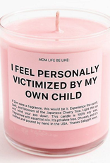 ryan porter i feel personally victimized by my own child candle