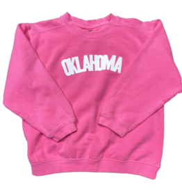 R+R kids blocklahoma sweatshirt