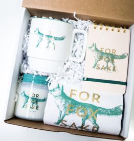 fox sake gift box