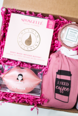 coffee then champagne gift box
