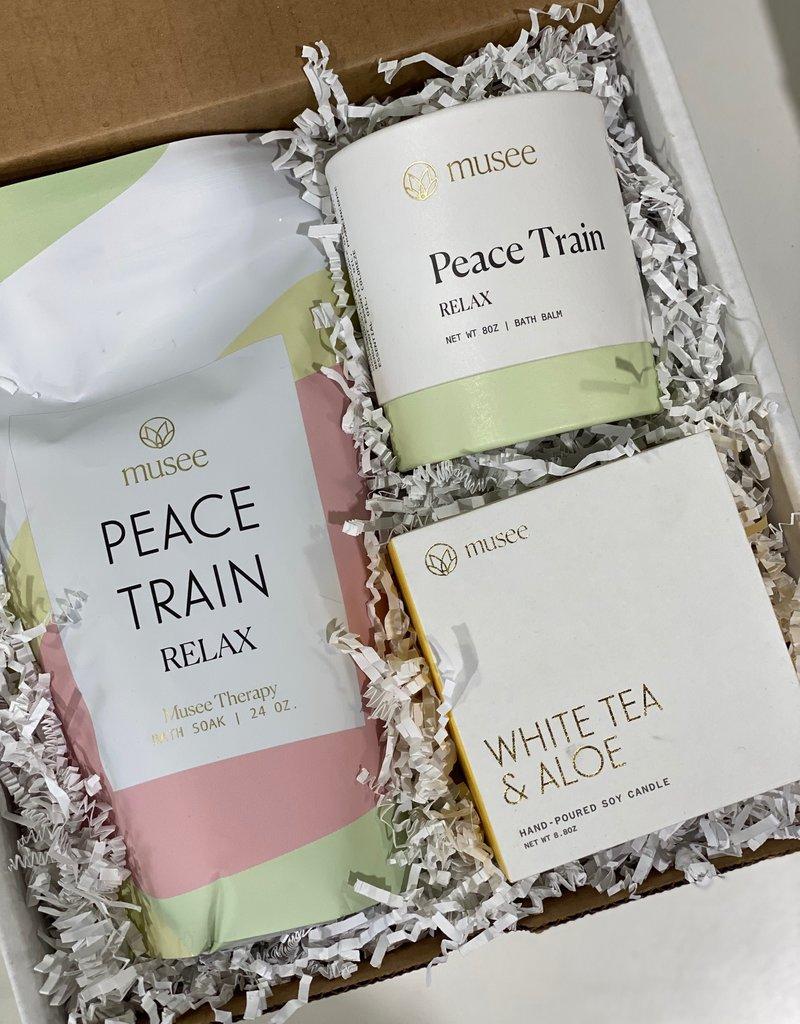 peace train gift box