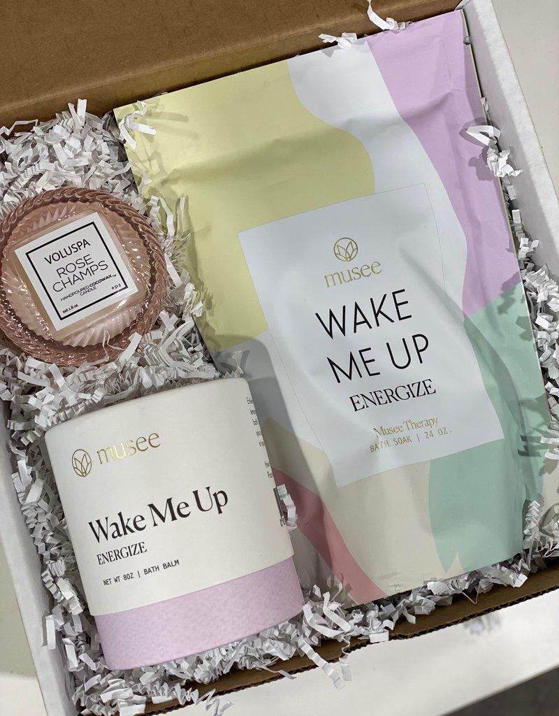 wake me up gift box
