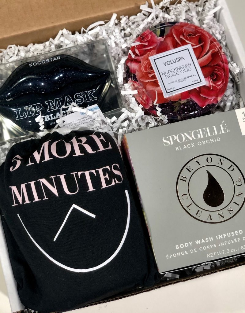 back in black gift box