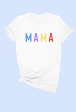 alphia multi color mama tee