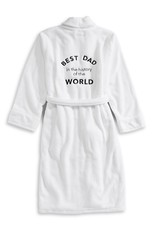 best dad luxe plush robe