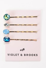 violet & brooks bella bobbie pin & earring gift trio