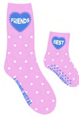 best friends mini+me sock set