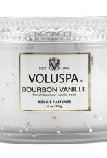 voluspa bourbon vanille 11oz corta maison glass candle