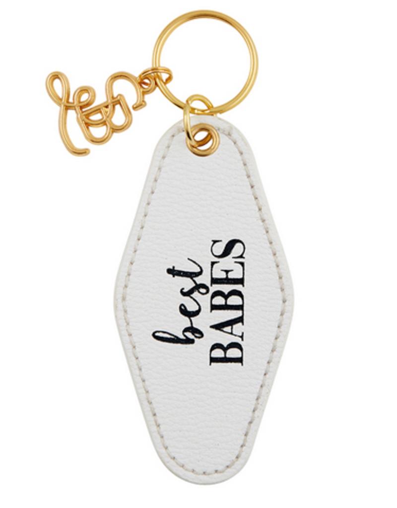 santa barbara designs bridal motel keychain FINAL SALE
