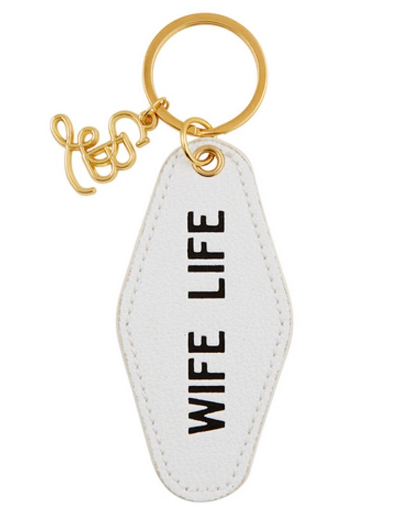 santa barbara designs bridal motel keychain