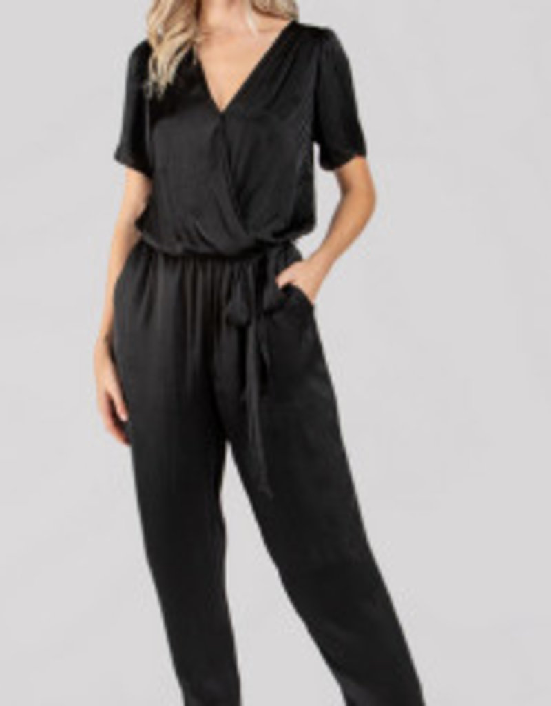 chrissy short sleeve jumpsuit