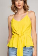 corina knot waist front top