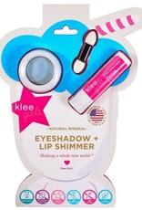 Klee Naturals kids eyeshadow & lip shimmer kit