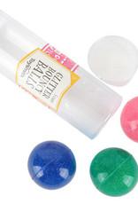 glitter bouncy balls