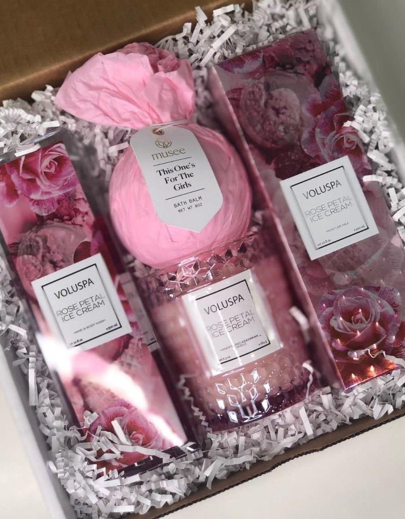 rose petal gift box