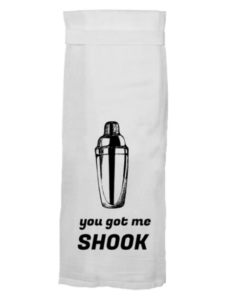 you got me shook towel