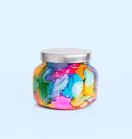 capri blue volcano rainbow watercolor signature jar 19oz